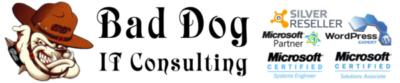 Bad Dog IT Consulting Logo