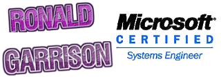Ronald Garrison – Systems Engineer